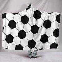 ücretsiz battaniye desenleri toptan satış-YENI Battaniye Yün Battaniye Yatak Odası ve Kanepe beyzbol ve Futbol Desen yetişkin Kullanın ve Çocuk Battaniye 200x150 cm Ücretsiz kargo