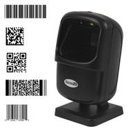 escáner código qr al por mayor-Kercan Órbita automática Omnidireccional 2D / QR PDF417 Matriz de datos CCD Imagen Lector de código de barras con lector de USB