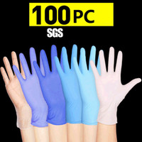 Wholesale garden screens resale online - 100pc Disposable Gloves Latex Dishwashing Kitchen Garden Gloves Universal For Left And Right Hand Colors