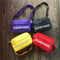 Wholesale messenger bags online - Places Faces Life Skateboards Designer Crossbody Bag ss New P F Mens Womens Shoulder Bag Mini Cute Messenger Bags