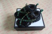 ingrosso scarpe da trekking di qualità-Sneaker FFlashtrek di lusso di alta qualità con cristalli removibili in vera pelle scarpe da trekking oversize uomo e donna scarpe di design stivali 35-45