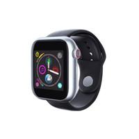 умные часы оптовых-Новейшие часы Z6 Smartwatch для Apple Iphone Smart Watch Bluetooth 3.0 Часы с камерой поддерживает SIM-карту TF для смартфона Android
