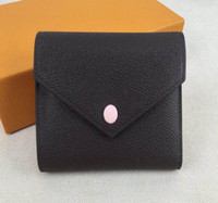 Free shipping!real leather multicolor coin purse date code short wallet Card holder women man classic zipper pocket M41938
