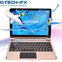 Wholesale tablet cpu for sale - Group buy 10 quot Tablet Touch Screen And Keyboard Fast Intel CPU Quad Core Notebook Computer Laptop Full Metal Shell Bluetooth WIFI Russian