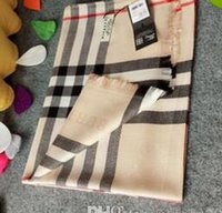 Wholesale pashmina scarf resale online - Top designer silk scarf brand scarf ladies soft super long luxury scarf shawl spring fashion printed scarves a0320