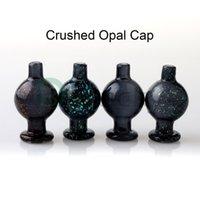 prego de opala venda por atacado-26mmOD Esmagado bolha Opal Cap Heady vidro Carb Cap direcional bolha Dab Caps Para Pipes Quartz Banger Nails vidro Bongs Dab Rigs água