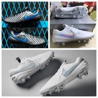 Wholesale under shoes resale online - 2019 mens soccer shoes Tiempo Legend VIII FG soccer cleats Under The Radar cheap football boots high quality