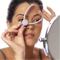 herramientas de roscado facial al por mayor-Depiladora facial Depiladora Sistema de enhebrado Roscado Señoras Facial Depiladora Herramientas de maquillaje Mini portátil