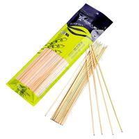 varas de espeto de bambu venda por atacado-comprimento 30 centímetros Hoomall 100pcs / dúzia Churrasqueira Mats Bamboo Espeto Grill Shish Madeira Varas barbecue Ferramentas Churrasco Descartáveis