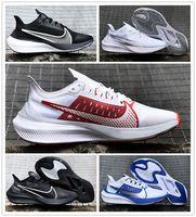 açık hava ayakkabıları büyük toptan satış-2019nbspNIKE HAVA ZOOM GRAVITY adam koşu ayakkabıları hava ZOOM 37 outdoor run spor sneakers büyük logo yürüyüş ayakkabı boyutu 40-45