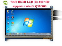 Wholesale lcd screen 7inch for sale - Group buy Waveshare inch HDMI LCD B Capacitive Touch Screen HDMI Interface for Raspberry Pi BB Black and Banana Pi Pro