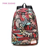 Wholesale yellow school bags for sale - Group buy Pink sugao designer backpacks BRW women travel bag student school bags waterproof backpacks leisure travel bag backpack high quality