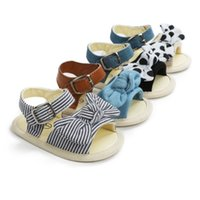 Wholesale baby girls footwear sandals resale online - Dot Baby Girls Sandals Newborn Casual Sandals Shoes Soft Sole Breathable Toddler Footwear
