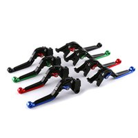 Wholesale clutch levers for kawasaki resale online - CNC Aluminum alloy motorcycle brake lever Moto foldable adjustable Brake Clutch Levers For Kawasaki Z900 year