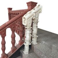 moldes para la venta al por mayor-Molde de barandilla de barandilla de escalera de hormigón decorativo para la venta