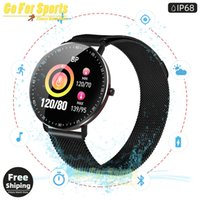 Wholesale z7 resale online - smart watch F19 activity tracker heart rate blood pressure music control weather forecast full screen touch bracelet pk Z6S Z7