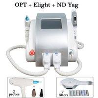 Wholesale portable q switch nd laser resale online - ipl laser machines for sale q switch nd yag laser SHR IPL Portable Elight SHR blood Vesses Removal