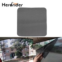 Wholesale window solar for sale - Group buy 1Pair Car Sunshade Sticker Window Solar Protection UV Sticker Electrostatic Stickers Auto Front Rear Side Sun Shading Supplies
