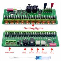 12-кратные световые диммеры оптовых-30channel управление DMX 512 RGB светодиодные ленты контроллер DMX декодер водитель Сид затемнителя DMX 12В