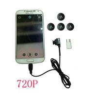 usb pinhole camera al por mayor-Botón de la cámara del USB del envío 720P HD con DVR, Botón de cámara estenopeica Micro Mini con una función de DVR para el teléfono, fácil de llevar