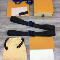 ingrosso cinghie di stirata del fiore nero-Uomo Donna Cinture Marchio di Cintura Fashion Design altamente qualità vengono con la scatola e la borsa