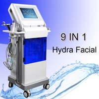 Wholesale microdermabrasion in1 for sale - Group buy 9 in1 hydro microdermabrasion machine hydra microdermabrasion home machines skin scrubber ultrasonic scalpel wrinkle removal oxygenotherapie