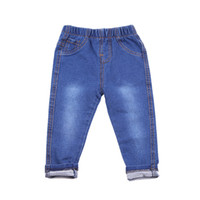 Wholesale baby clothing 18 24 months for sale - Group buy Children Jeans baby Boys Denim trousers Girls Jeans Casual pants for kids clothing spring soft leggings