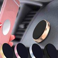 mobiler navigationsstand großhandel-Legierung Handy Auto Halter Stehen Magnet Magnetische Fahrzeugnavigation Aluminium Stick Magnet Bracket Unterstützung Handy Halten