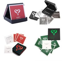 Wholesale classic card games for sale - Group buy Novelty Vertellis Classic Heart shaped question mark card Home Edition Party board game Children s adult toys