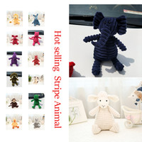 Wholesale zoo toys online - Animals Stuffed Plush Doll Toys Big Size Animals Zoo Stuffed Doll toys Best Gifts For Birthday Toys