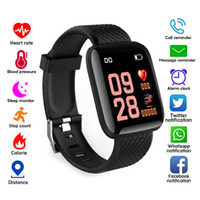 Wholesale iphone plus rates for sale - New Plus Smart watch Bracelets Fitness Tracker Heart Rate Step Counter Activity Monitor Band Wristband PK PLUS for iphone Android