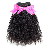 bakire kıvırcık afro örgü toptan satış-Musi Perulu Sapıkça Kıvırcık Saç 3 Paketler 100% İşlenmemiş Virgin İnsan Saç Uzatma Toptan Fiyat afro Kinky Saç Örgü Doğal Renk