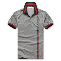 erkekler için ekose polo gömlekleri toptan satış-2019 Yeni erkekler Tasarım Yaz Moda İngiltere erkek Ekose Kısa Kollu T-Shirt Yüksek Kalite% 100% Pamuk Baskı POLO Gömlek Siyah pembe