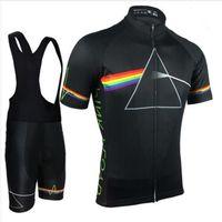 розовый трикотаж для мужчин оптовых-Pink Floyd Велоспорт Мужские Mtb Рубашки Дышащий Велосипед Комплекты Одежды Quick Dry Спортивные Топы Велоспорт Трикотажные изделия Xs-5xl