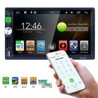 receptor de tv chinês venda por atacado-2 Din Receptor Estéreo de 7 Polegada Android Universal Máquina Multimídia Carro DVD Player MP5 GPS Navigator Tela de Toque Capacitiva HD