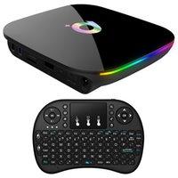 set box medya oynatıcı wifi toptan satış-Android 9.0 Akıllı Tv Box H6 Dört Çekirdek 4Gb 32Gb 1080P 6K Hd Ev Media Player Box 2.4G Wifi Set Üstü İçin Yeni Eski Tv Eu Tak