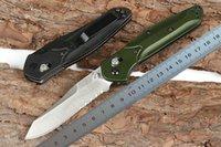 siyah kelebek kutuları toptan satış-Orijinal Kutusu ile 1 Adet Yeni Kelebek 940 Cep Katlama Bıçak D2 Siyah / Saten Bıçak CNC T6061 Sap EDC Bıçaklar