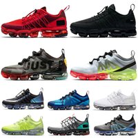 Wholesale maxs shoes for sale - Group buy 2020 Vapors Cushions Run Utility Men Women Running Shoes Mutil CPFM X VPM Trainers Triple Black Racer Maxs New Brand Designer Sneakers