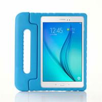 Wholesale kids ipad 10.2 case resale online - Kids Proof Tablet case Children Handle Stand EVA Foam Soft For Apple iPad Mini Ipad Air ipad pro for Amazon fire