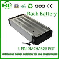 fahrradbatteriegestell großhandel-48 V 21AH 1000 Watt Gepäckträger Ebike batterie für Elektrofahrrad Elektrofahrrad mit ladegerät USA EU Freies schiff keine steuer