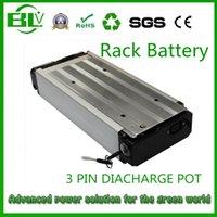 ingrosso rack per batterie-48V 21AH 1000W Rack bagagli Ebike batteria per bici elettrica Bicicletta elettrica con caricatore USA EU Nave gratuita senza tasse