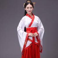 fee kleidung großhandel-Ethnische Kleidung Chinesische Kostüme Fairy Dance Kleidung Kleid Zug und Drama Kostüme Student Kostüm Abschlussfeier
