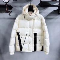 Kaufen Sie im Großhandel Weiße Gefiederte Jacken 2020 zum