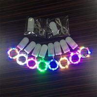dekorative leds großhandel-2 Mt 20 LEDs Girlande Dekorative LED String Licht Kupferdraht CR2032 Batteriebetriebene Weihnachten Hochzeit Dekoration String Lichterketten
