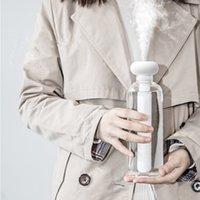 humidificador ultra-sônico névoa branca venda por atacado-Branco desmontável umidificador de ar para o Home Office Portable USB Aroma Difusor Car Maker Mist Ultrasonic umidificadores difusores Y200111