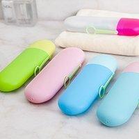 protector de cepillos al por mayor-Cepillo de dientes para la salud Caja 6 colores Funda para cepillo de dientes Portátil Protector de cepillo de dientes de viaje 100 piezas DHL
