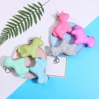 Wholesale coin for sale - Unicorn cartoon coin bag wallet girl Portable keychain storage fashion mini bag student change money pouch party favor FFA1545