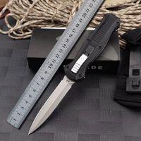 dschungeljagdmesser groihandel-Bench BM 3300 3310 Automatische Messer aus der Front Double Action Auto D2 Stahl Speerspitze Plain Tactical EDC Überlebensmesser 3310BK Werkzeuge