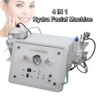 mikrodermabrasion maschine tipps großhandel-Tragbare Hydra Gesichtsmaschine Sauerstoff Gesicht Schälmaschine Tipps für Diamant Peeling Microdermabrasion Hautverjüngung Maschine