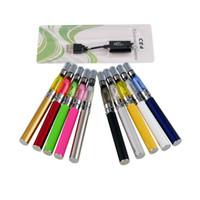 elektronische zigaretten-blister-kits ego großhandel-CE4 Ego Starter Kit CE4 Elektronische Zigarette Blister Kits e CIG 650mAh 900mAh 1100mAh EGO-T Batterie Blister Etui Clearomizer E-Zigarette